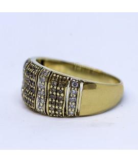 Gold Diamond Dress Ring