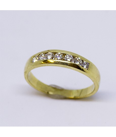 Diamond Gold Wedding Ring